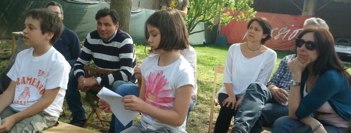 Genitori e figli insieme per la catechesi in preparazione all'Eucarestia