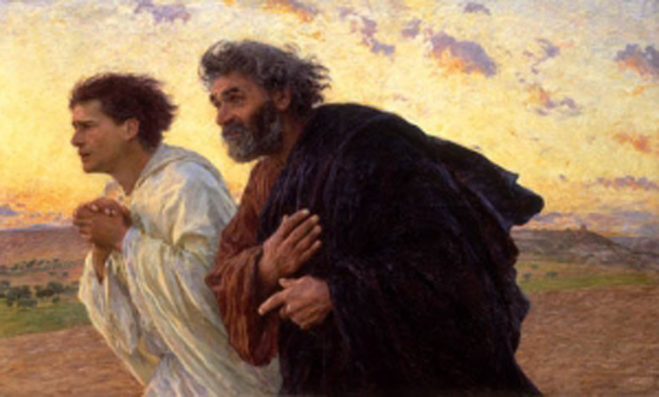 Il mattino della Resurrezione, Eugene Burnand