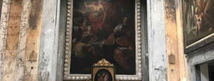 La cappella di San Giovanni Battista in Santa Maria in Monticelli