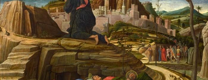 Andrea Mantegna, Orazione nell'orto, (The National Gallery, Londra)