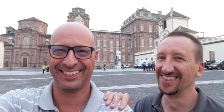 Padre Andrea Marchini e padre Ottorino Vanzaghi
